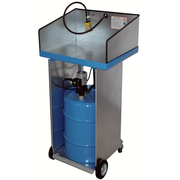 Teilewaschger t mit pneumatischer pumpe krp 330 dos auf for Gartenpool mit pumpe